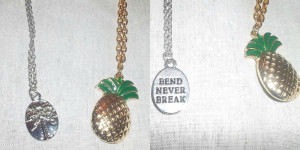 Tropical Necklace Collage