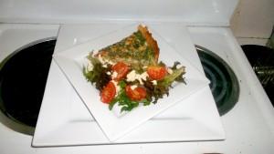 Tuna and Spinach Quiche