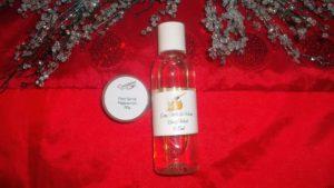 Peppermint Foot Scrub RRP $5.50/Oatmeal, Milk & Honey Body Wash RRP $7.20